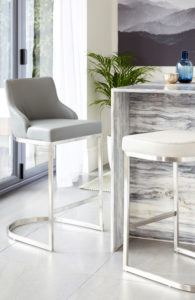 Stylish Matching Bar Stools And Dining Chairs From Danetti