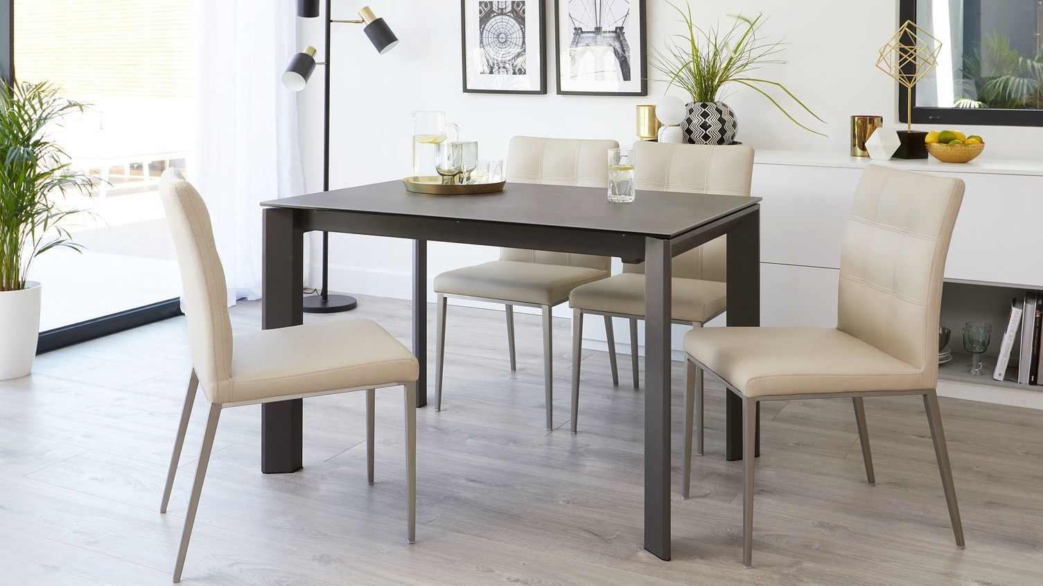 Furniture that grows with your family - louis dining table