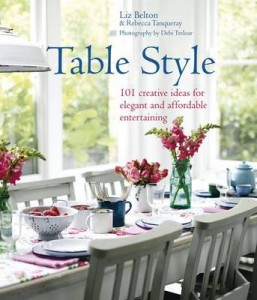 Table style coffee table book