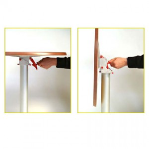 Anas folding table mechanism