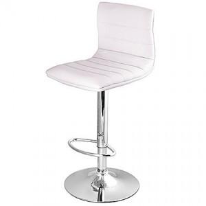 Bermuda faux leather swivel bar stool