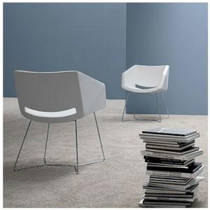 Danetti white dining chair, Delilah