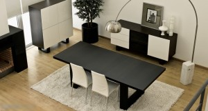 The Drada dining table from Danetti - ideal for luxury rental properties