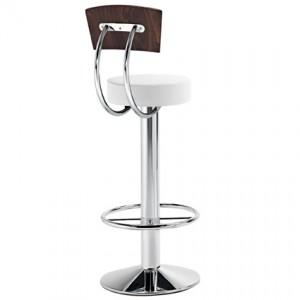Esprit leather bar stool