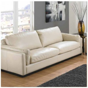 Luxury leather sofa for high end let