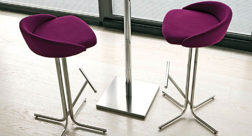 Salve bar stool by Danetti
