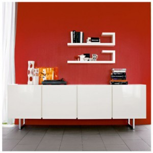 Santino four door sideboard
