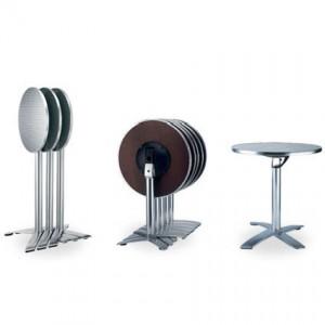 Strat folding table base