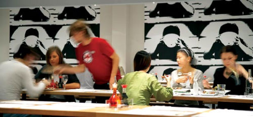 Canteen-style dining is a big trend for 2010