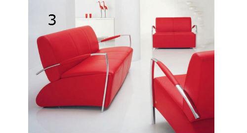 Bodil Sofa in red