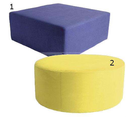 Kube and Orbit low stools
