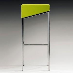 Orla bar stool in yellow
