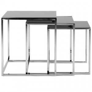 Emery contemporary nest of tables