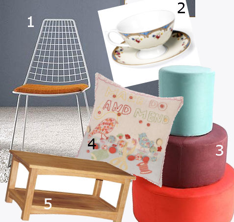 make do and mend trend - interiors