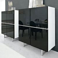 Santino square gloss cabinet