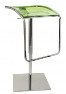 Volare green bar stool