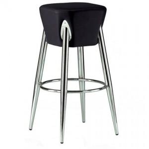 Spartan bar stool in black