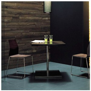 Lamore wooden table for two
