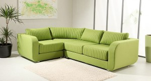 Soho modular sofa in green