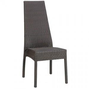 Ecco high back outdoor chair