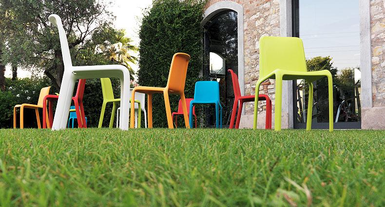 Podo plastic dinign chairs