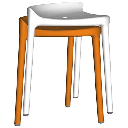 Silvi low stool
