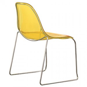 Clean lines: the Sporta chair is simple and sleek