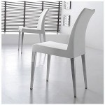 Belvedere White Dining Chair