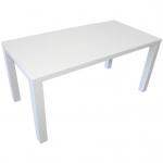 Fern White Gloss Dining Table