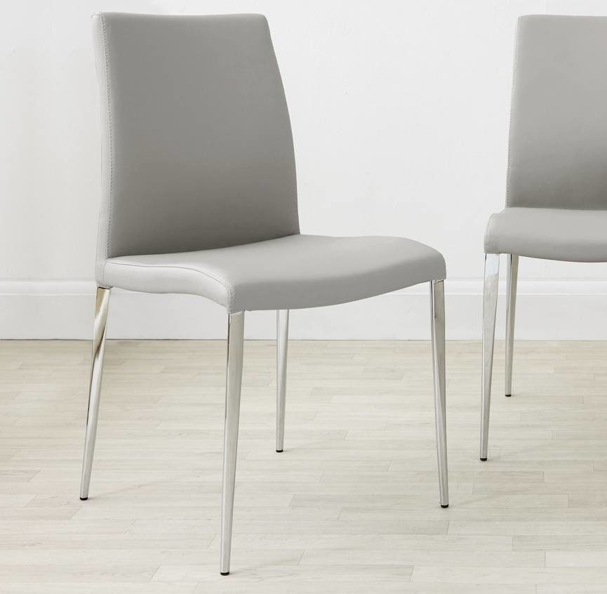 Elise Dining Chair in Cool Grey