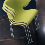 Arezzo Plastic Stackable Armchair