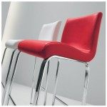 Candess Contemporary Red Bar Stool