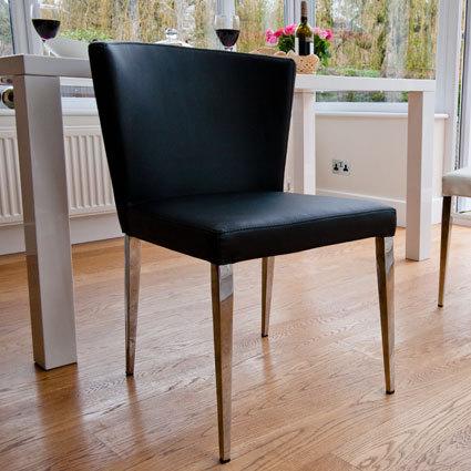 Curva Black Dining Chair