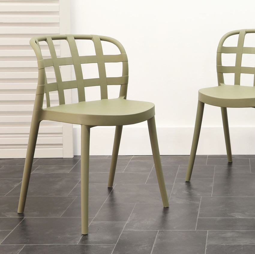 Skye Garden Chair in Matcha Green