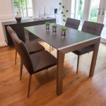 Casa Wenge and Moda Extending Dining Set