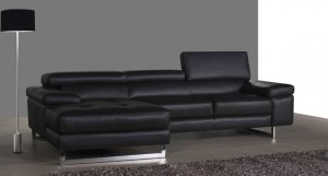 Davini Leather Corner Sofa