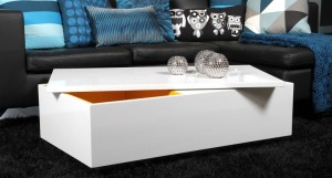 Fina White Gloss Coffee Table