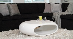 Latina White Gloss Coffee Table