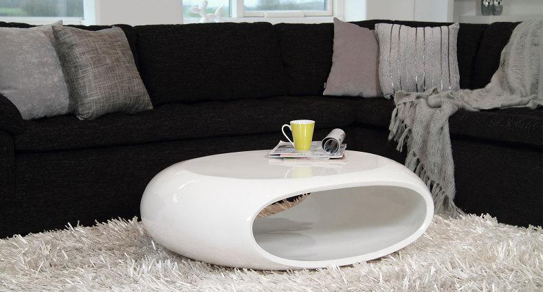 Latina White Gloss Coffee Table