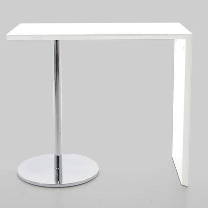 3a74f0575bad Lola White Gloss Bar Table   Product Spotlight