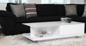 Vita White Gloss Coffee Table