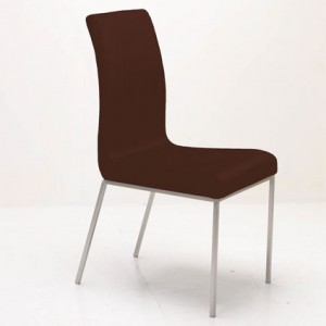 Louisa Dining Chair in Brown