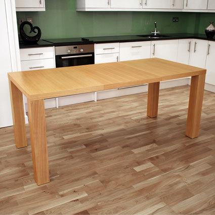 Fern Oak Extending Dining Table