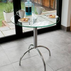 Zack Glass Kitchen Table