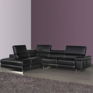Como Leather Corner Sofa