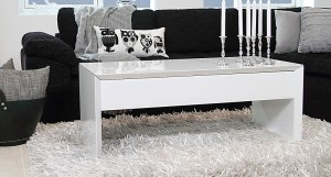 Lift White High Gloss Coffee Table