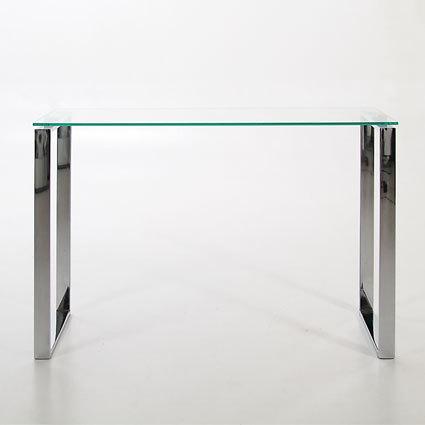 Solero Glass Console Table