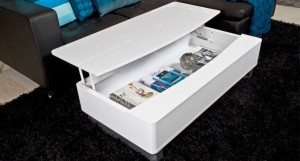 Denza White Coffee Table