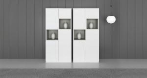 Emilia White Oak Veneer Cabinet