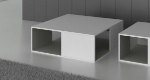 Emilia White Oak Veneer Coffee Table